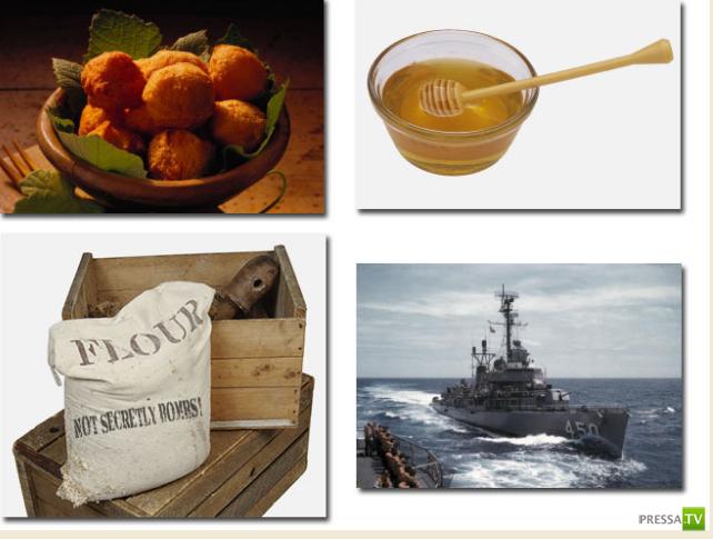 4 исторических факта, когда еда использовалась как оружие
