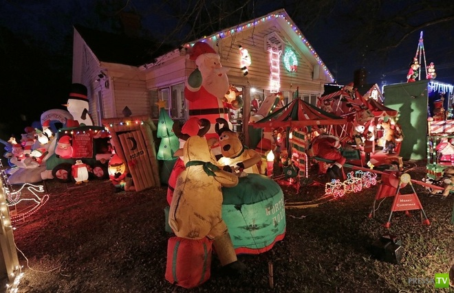 Американское Рождество (8 фото)