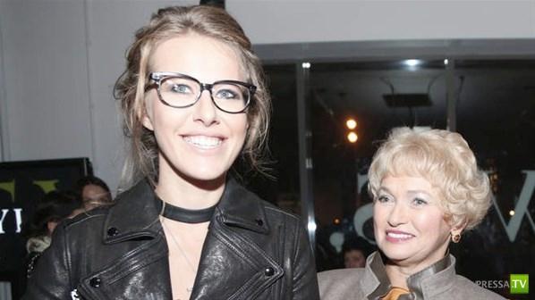 Мать Ксении Собчак покрыла дочь матом (5 фото)