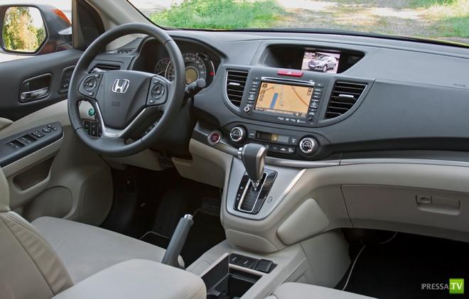 Европейскую модификацию нового поколения кроссовера honda cr-v 2012 японская компания представит на