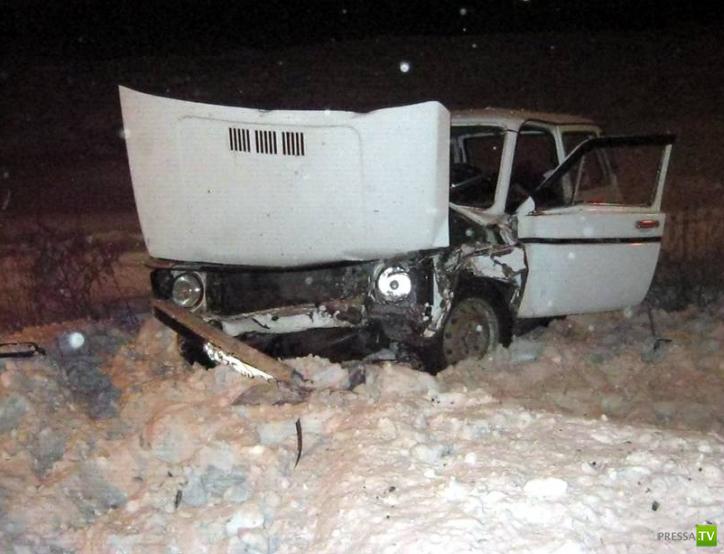 Лобовое столкновение «Субару-Форестер» и ВАЗ-2121  в Орске Оренбургской области