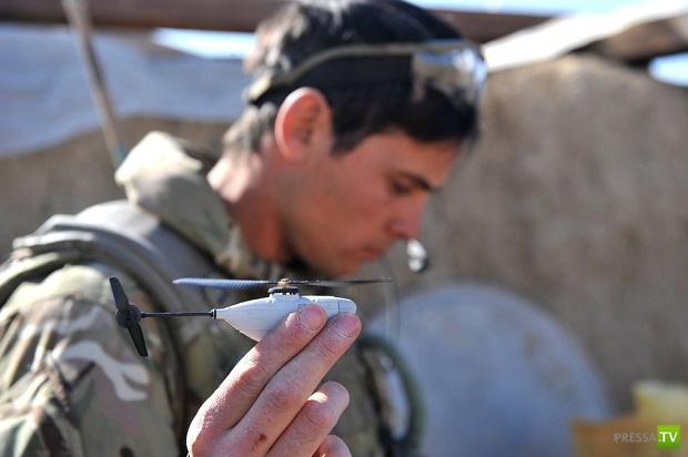 На вооружение британской армии поступил вертолёт весом 15 граммов (5 фото)