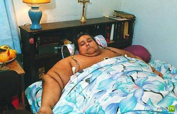 Самые толстые люди планеты (17 фото)