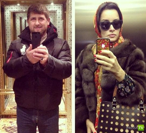 Поездка Тины Канделаки в Грозный... (4 фото)