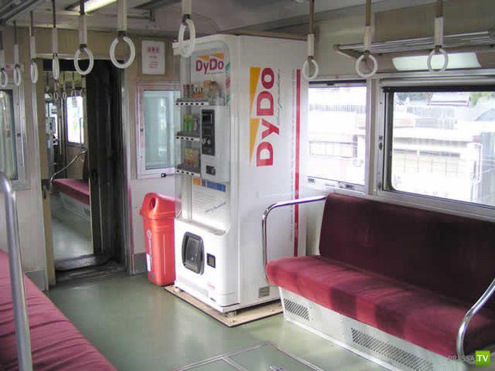 Разнообразные торговые автоматы Японии (24 фото)