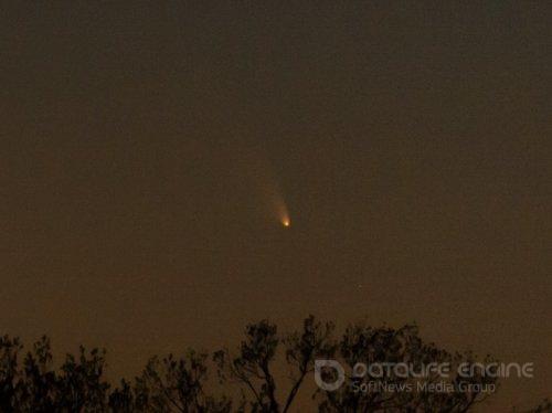 Комета PanSTARRS прилетела на 45 дней (13 фото)