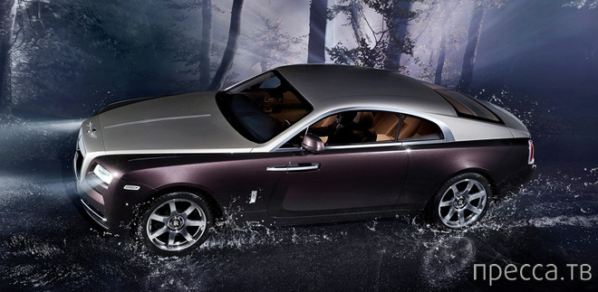 Купе Rolls-Royce Wraith - самый мощный автомобиль марки (5 фото)