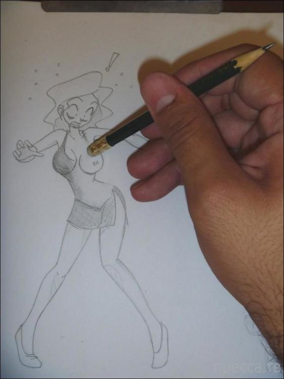 Веселые карикатуры, часть 12 (38 фото)
