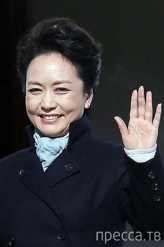 Первая леди Китая - Пэн Лиюань, стала звездой Интернета (15 фото)