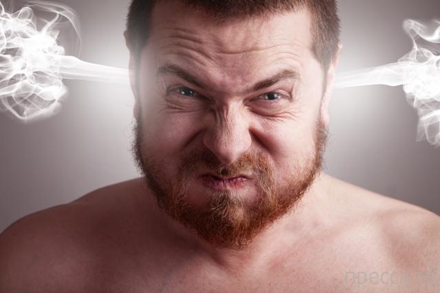 Выражая гнев, вы продлеваете себе жизнь (3 фото)