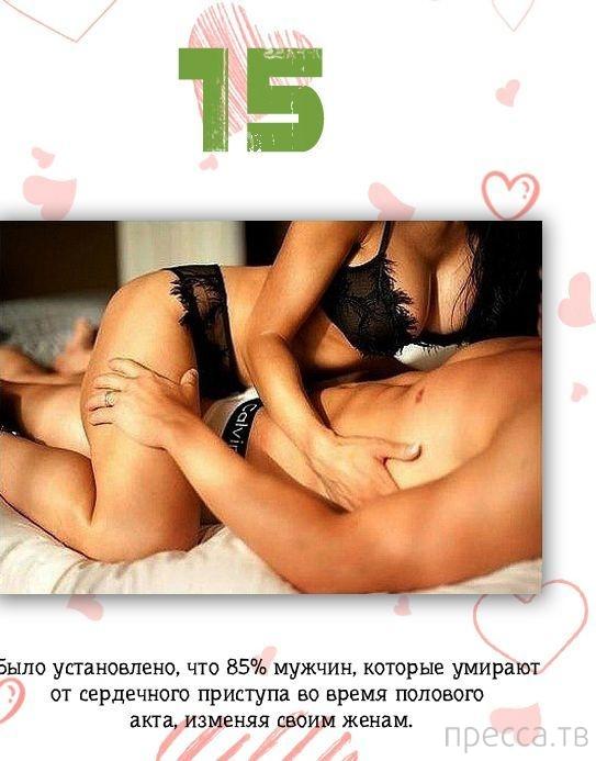 Подборка интересных фактов об интимной жизни... (17 фото)