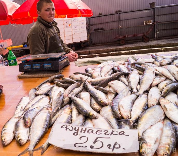 Что продают на привозе рыб