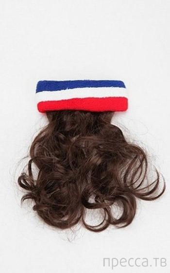 Накладные волосы (3 фото)