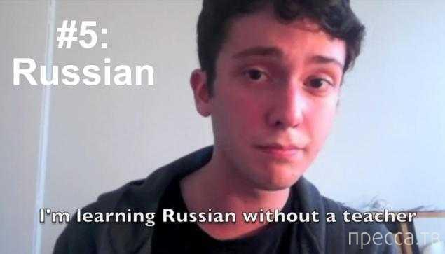 Подросток всего за четыре года выучил 20 иностранных языков (2 фото + видео)
