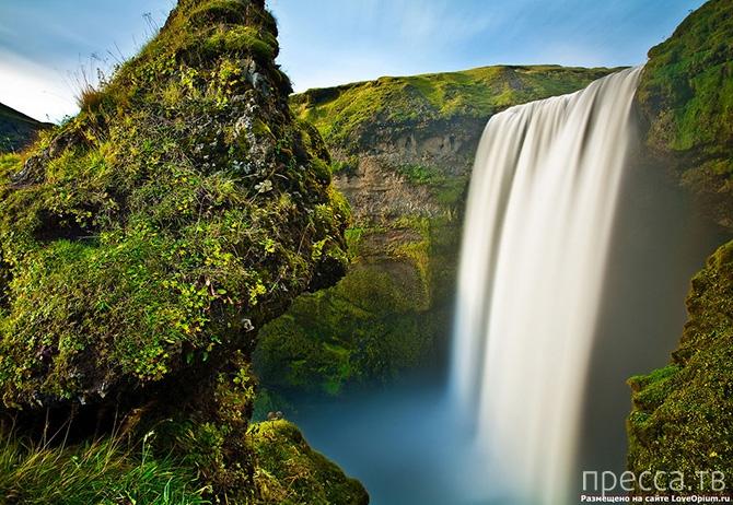 Сказочно-красивые водопады Исландии (33 фото)