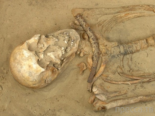 Документально зафиксированные  захоронения вампиров (8 фото)
