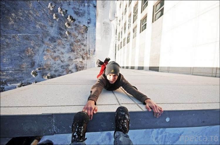Подборка фотографий спортсменов-экстремалов (12 фото)