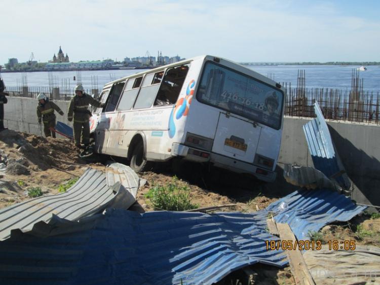 У маршрутки отказали тормоза... ДТП в Нижнем Новгороде