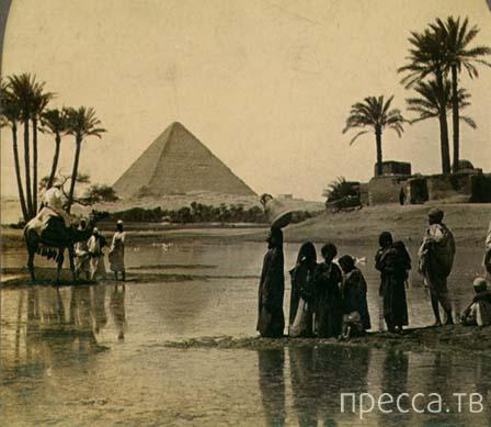Интересные факты о пирамиде Хеопса...