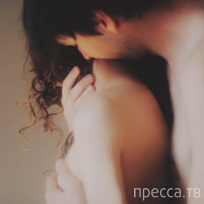 Фото поцелуй в грудь