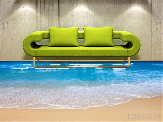 Супер-креативные дизайнерские решения для Вашего дома (11 фото)