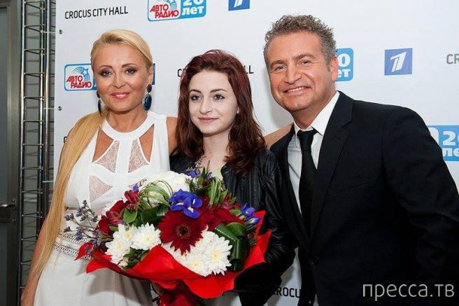 Анжелика Варум и Леонид Агутин показали взрослую дочь (фото)