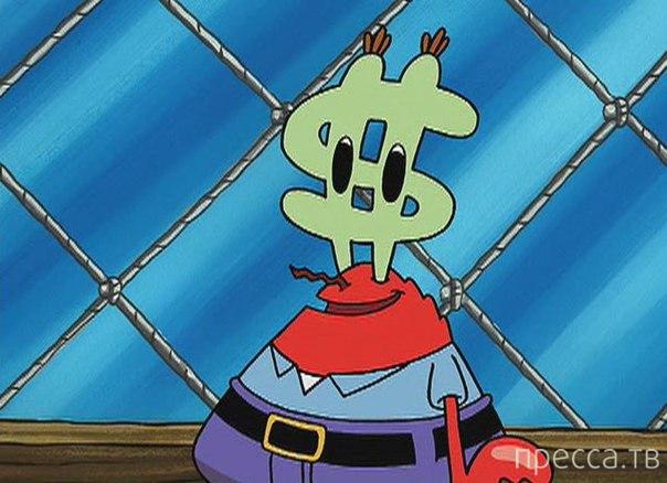 планктон фото спанч