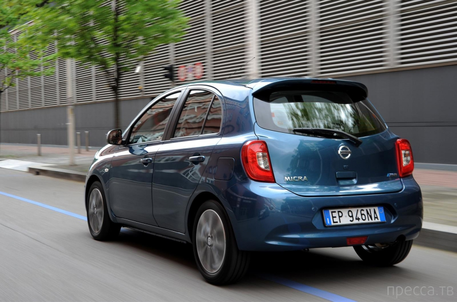 Обновленный Nissan Micra для европейского рынка (5 фото)