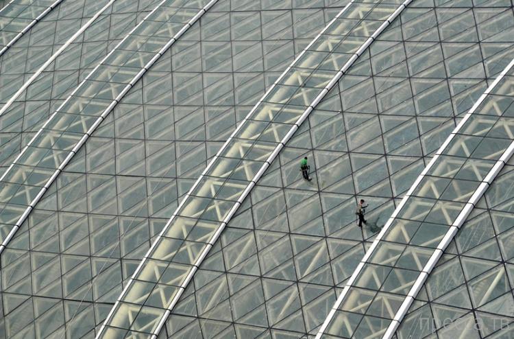 Китайцы построили самое большое в мире здание (6 фото + видео)