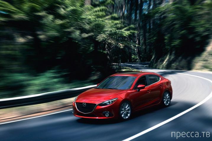Хэтчбек нового поколения Mazda 3…