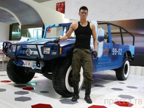 Военные внедорожники из разных стран мира (16 фото)