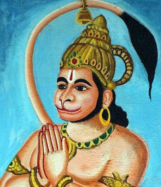В Индии 12-летнего мальчика  с хвостом признали воплощением местного божества (4 фото)