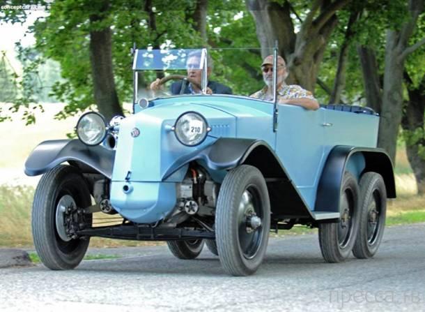 Модели старых машин с необычным дизайном, часть 2 (10 фото)