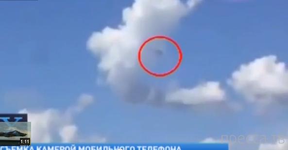 В небе над Испанией засняли взрыв НЛО ... (фото + видео)