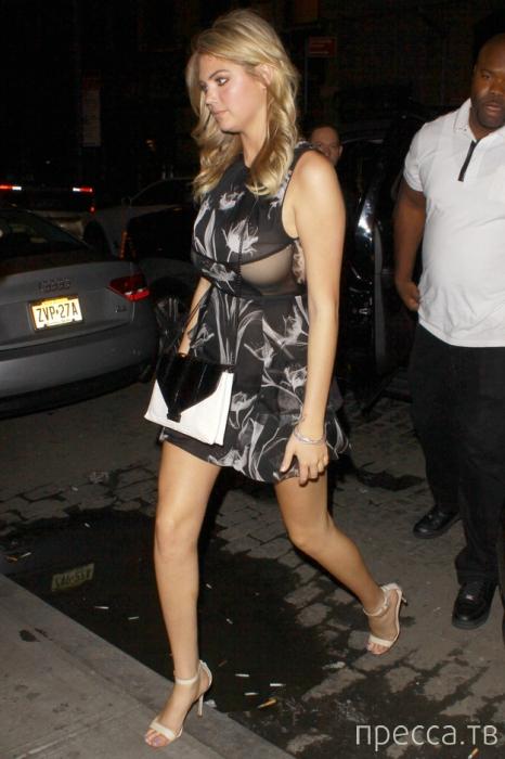 Кейт Аптон в эротичном платье (9 фото)