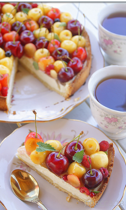 Вкуснятинка: Фруктово-ягодный десерт...
