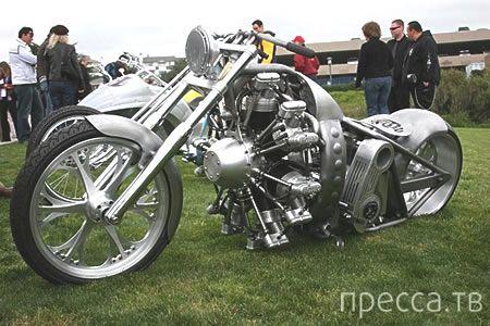 Удивительные монстры из мира мотоциклов (27 фото)