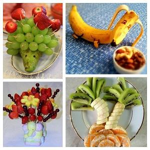 Необычные и аппетитные поделки из фруктов и ягод (11 фото)