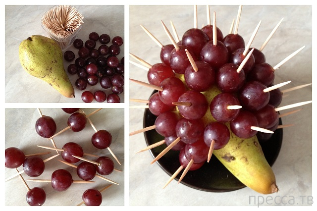 Поделки из фруктов своими руками фото