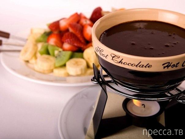 Чем полезен горячий шоколад...