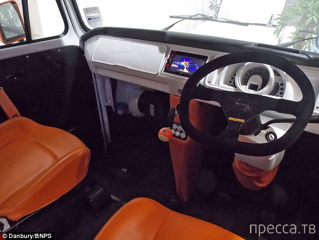 Машина мечты от Danbury Motorcaravans (7 фото + видео)