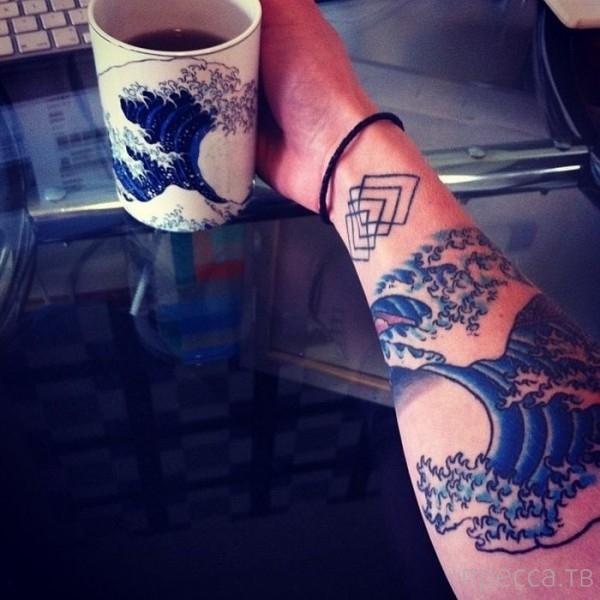 Очень необычные татуировки (41 фото)