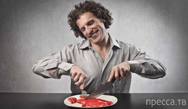 Что произойдёт, если вы будете питаться только мясом (2 фото)