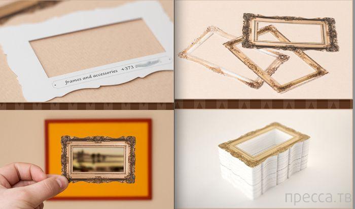 Подборка креативных и уникальных визиток (20 фото)