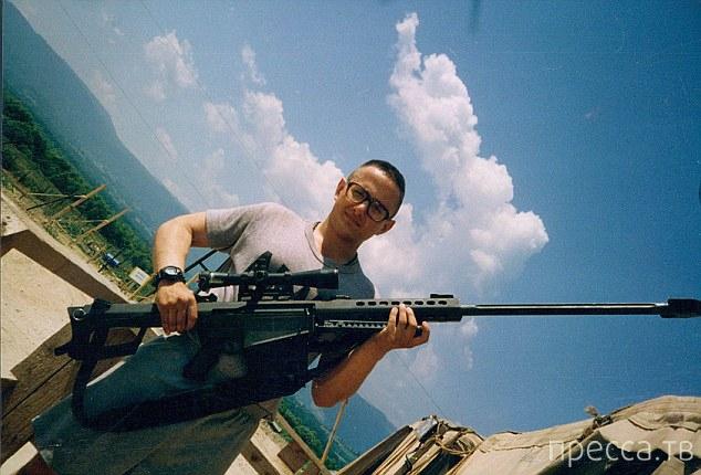Бывший снайпер уволился из армии, чтобы стать женщиной (5 фото)