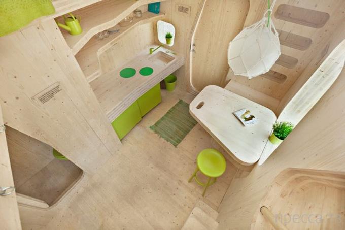 Мини-квартира для студента (7 фото)
