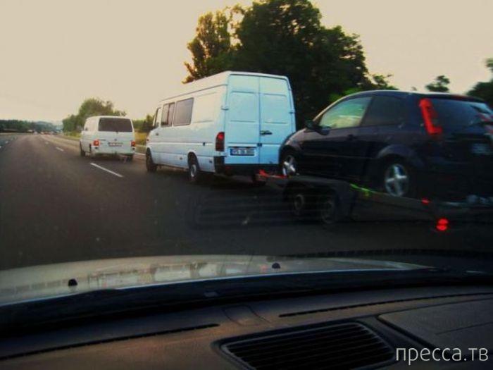 Автомобильные приколы (36 фото)