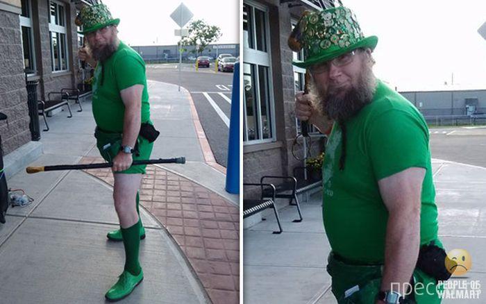 Странные и смешные люди в американских супермаркетах (45 фото)