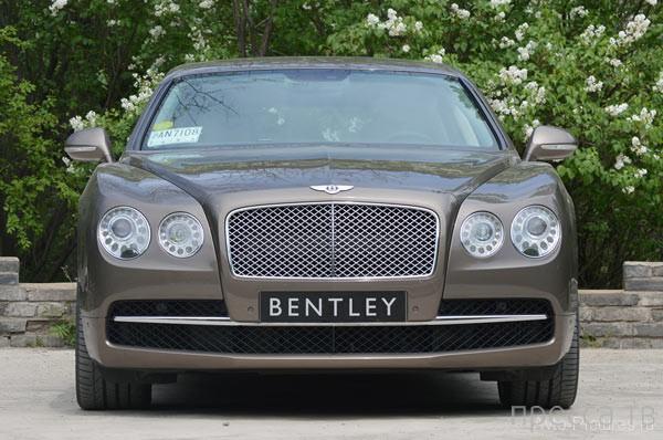 Эталон современной роскоши для миллионеров - Bentley Flying Spur 2014 (26 фото + видео)