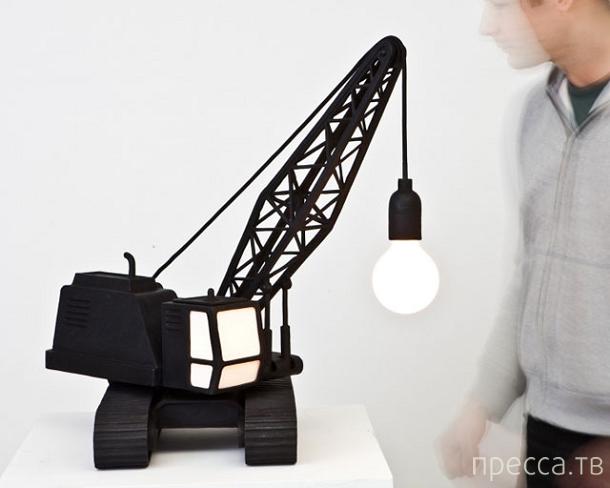 Светильники с очень необычным дизайном (25 фото)